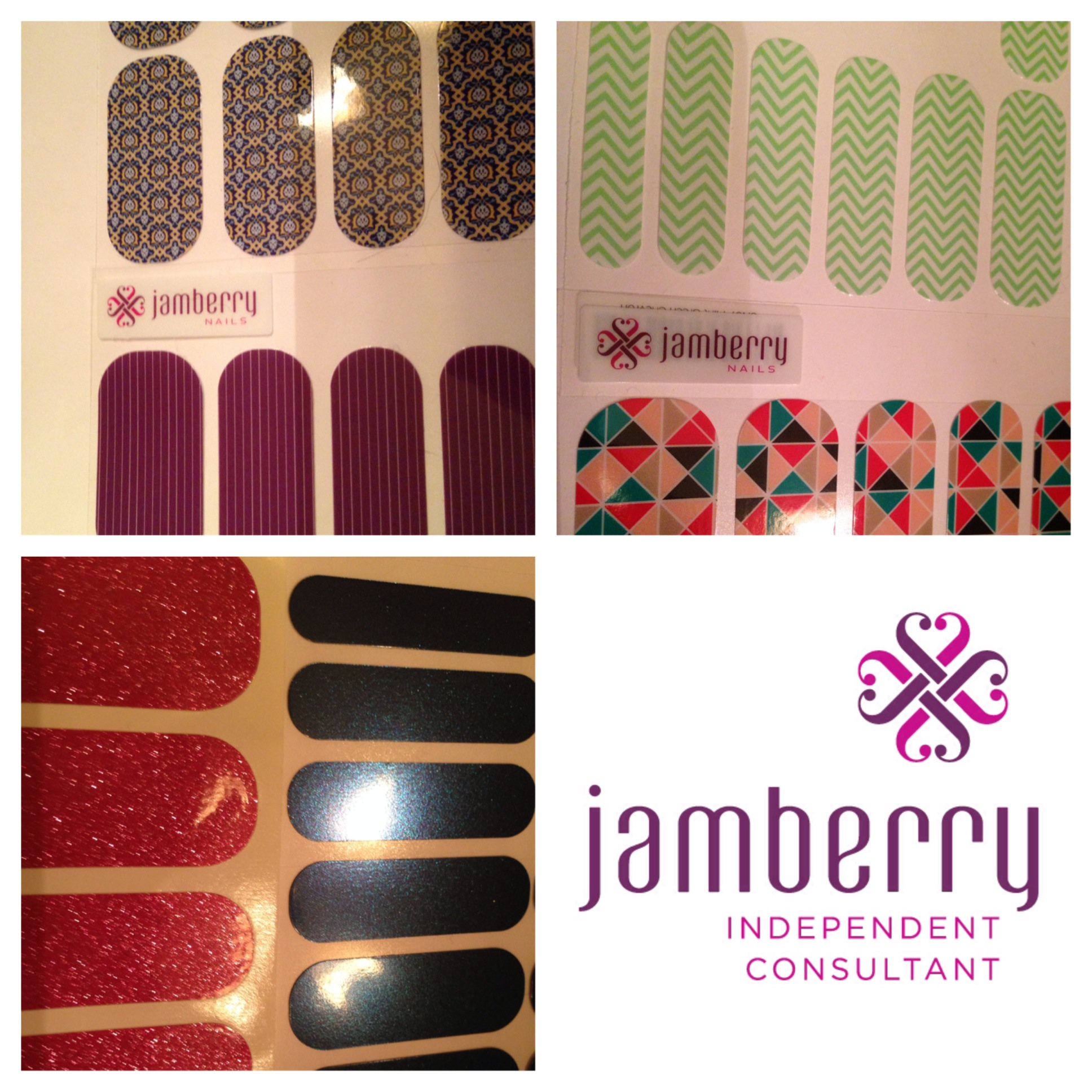 CLOSED)Auction item #23: Jamberry Nail Wrap and Application Set ...