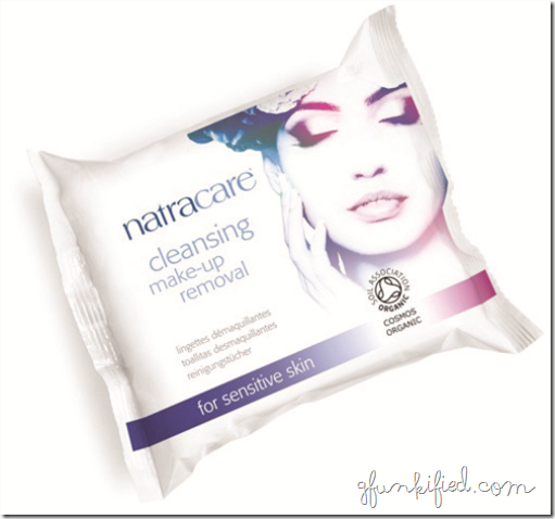 Natracare makeup removing wipes