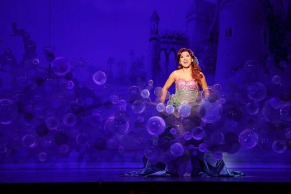 Diana Huey in Disneys THE LITTLE MERMAID. Photo by Mark & Tracy Photography.